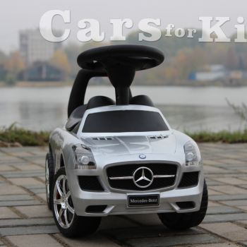 Толокар-Mercedes-SLA-серебро